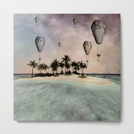 Wonderful tropical island  Metal Print