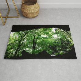 Travel Photography : Los Tres Ojos Forest - Dominican Republic Rug