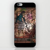 korrasami iPhone & iPod Skins featuring Korrasami - A holiday by Louise Novembre