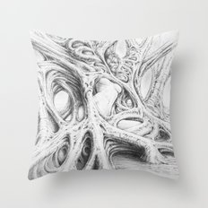 Driade 3 Throw Pillow