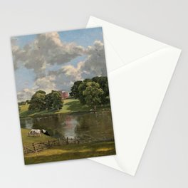 John Constable Wivenhoe Park, Essex 1816 Painting Stationery Cards