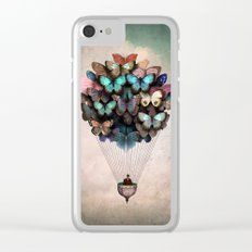 Dream On Clear iPhone Case
