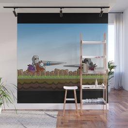 Joust It Wall Mural