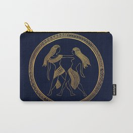 Golden Zodiac Series - Gemini Carry-All Pouch