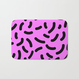 Pink Print Bath Mat
