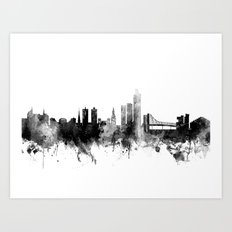 Oslo Norway Skyline Art Print