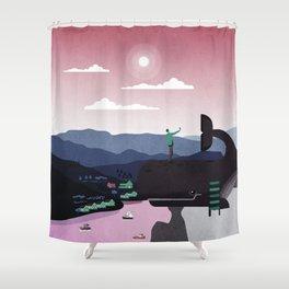 Norway 3 Shower Curtain