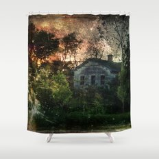 The Ghost House Shower Curtain