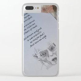 Gollum's Song Clear iPhone Case