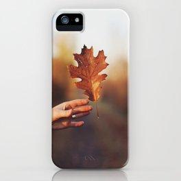 Catching a bit of Autumn iPhone Case