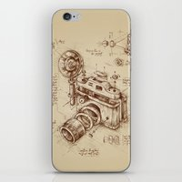 bruce springsteen iPhone & iPod Skins featuring Moment Catcher by Enkel Dika