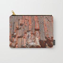 Agathe Log Texture Carry-All Pouch