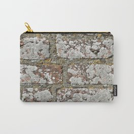 old wall bricks Carry-All Pouch