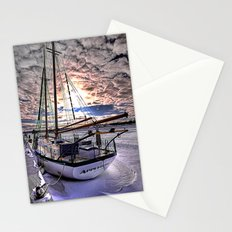 Tall Ship Appledore II Locked in Ice Stationery Cards