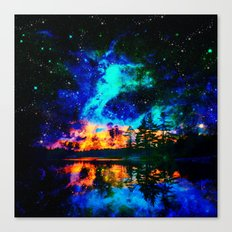 magical Lake Canvas Print