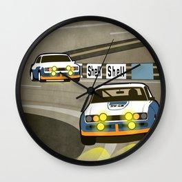 Capri at Le Mans Wall Clock
