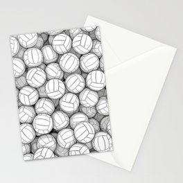 All I Want To Do Is Volleyball Stationery Cards