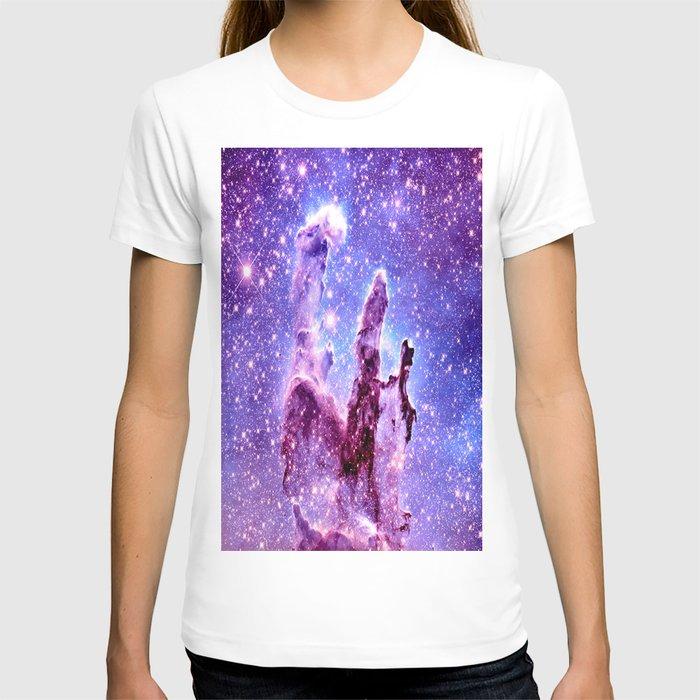 Galaxy Nebula : Pillars of creation T-shirt