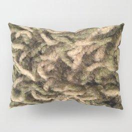 Green shag Pillow Sham