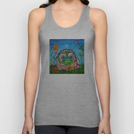 Lily Rose, the Pekingese Unisex Tank Top