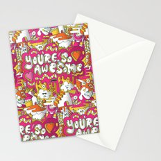 You're so awesome Stationery Cards