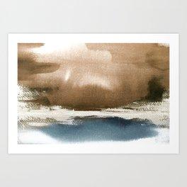 Landscape Abstract Art Art Print