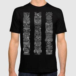 Tiki Totems – Black T-shirt