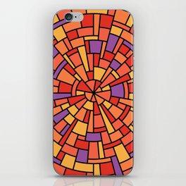 Wedgework in Orange iPhone Skin