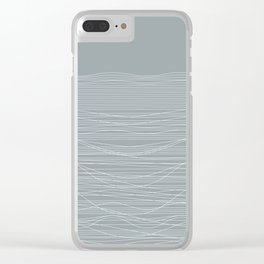 Unstable Lines Clear iPhone Case