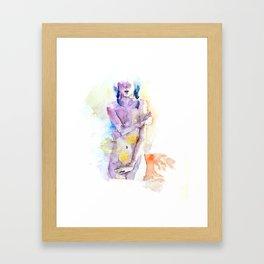 Nude 3 Framed Art Print