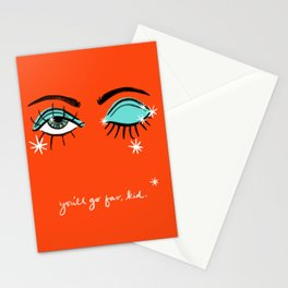 You'll go far, kid. Stationery Cards