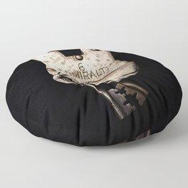Under lock and key Floor Pillow