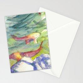 Small Koi Pond 22 Stationery Cards