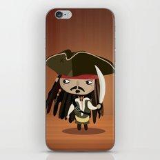 Captain Sparrow iPhone & iPod Skin