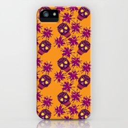 Fiesta - Tangerine - Beautiful Bones iPhone Case