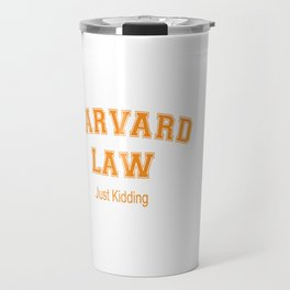 Law Student Travel Mug