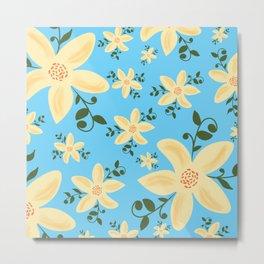 Springy Flowers Metal Print