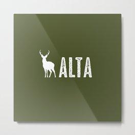 Deer: Alta, Utah Metal Print