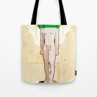 evolution Tote Bags featuring Evolution by Marko Köppe