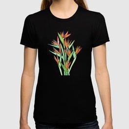 Birds of Paradise ~ tropical bouquet T-shirt