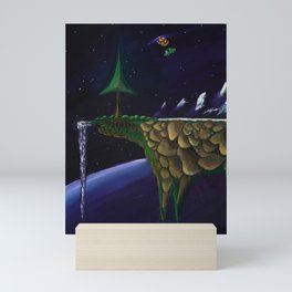 The Platformer's Edge Mini Art Print