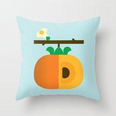 Fruit: Persimmon Throw Pillow