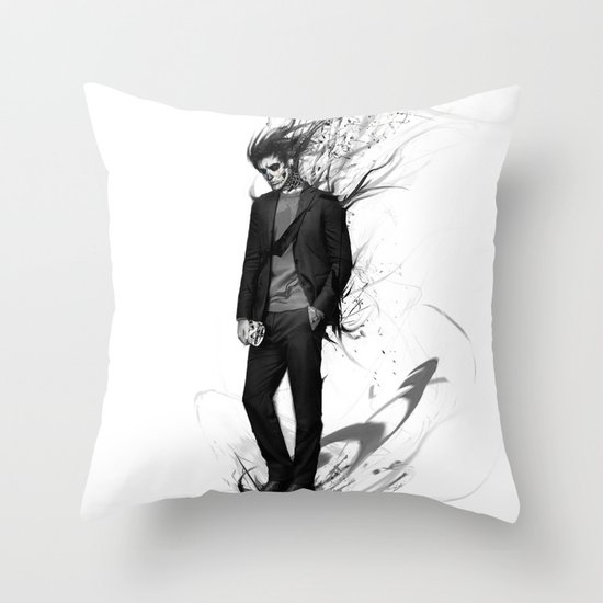 waiting for my valentine Throw Pillow