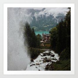 Lake Brienz Art Print