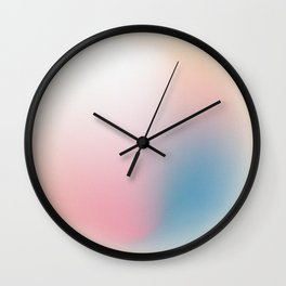 Abstract Gradient Bubble - Pearl Wall Clock