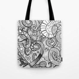 octupi heart Tote Bag