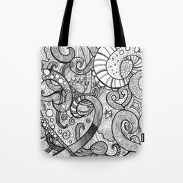octupi heart Tote Bag