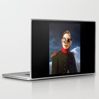 gore Laptop & iPad Skins featuring DM : A classic Martin Lee Gore by Luc Lambert