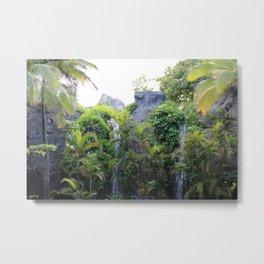 Hawaii Jungle Metal Print