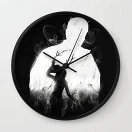Detective's Shadow Wall Clock